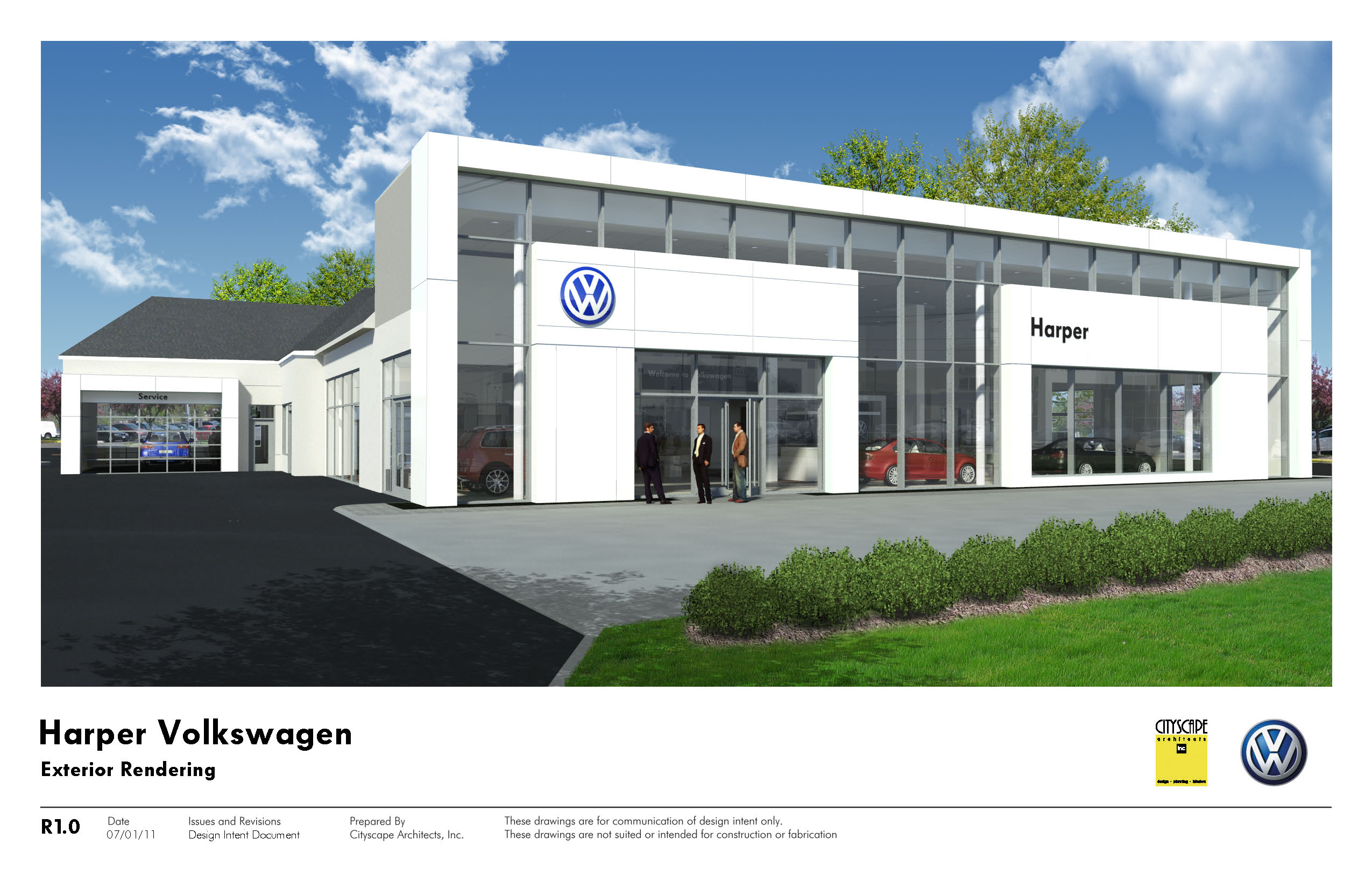 Our New White Frame Facility Now Open Harper Volkswagen