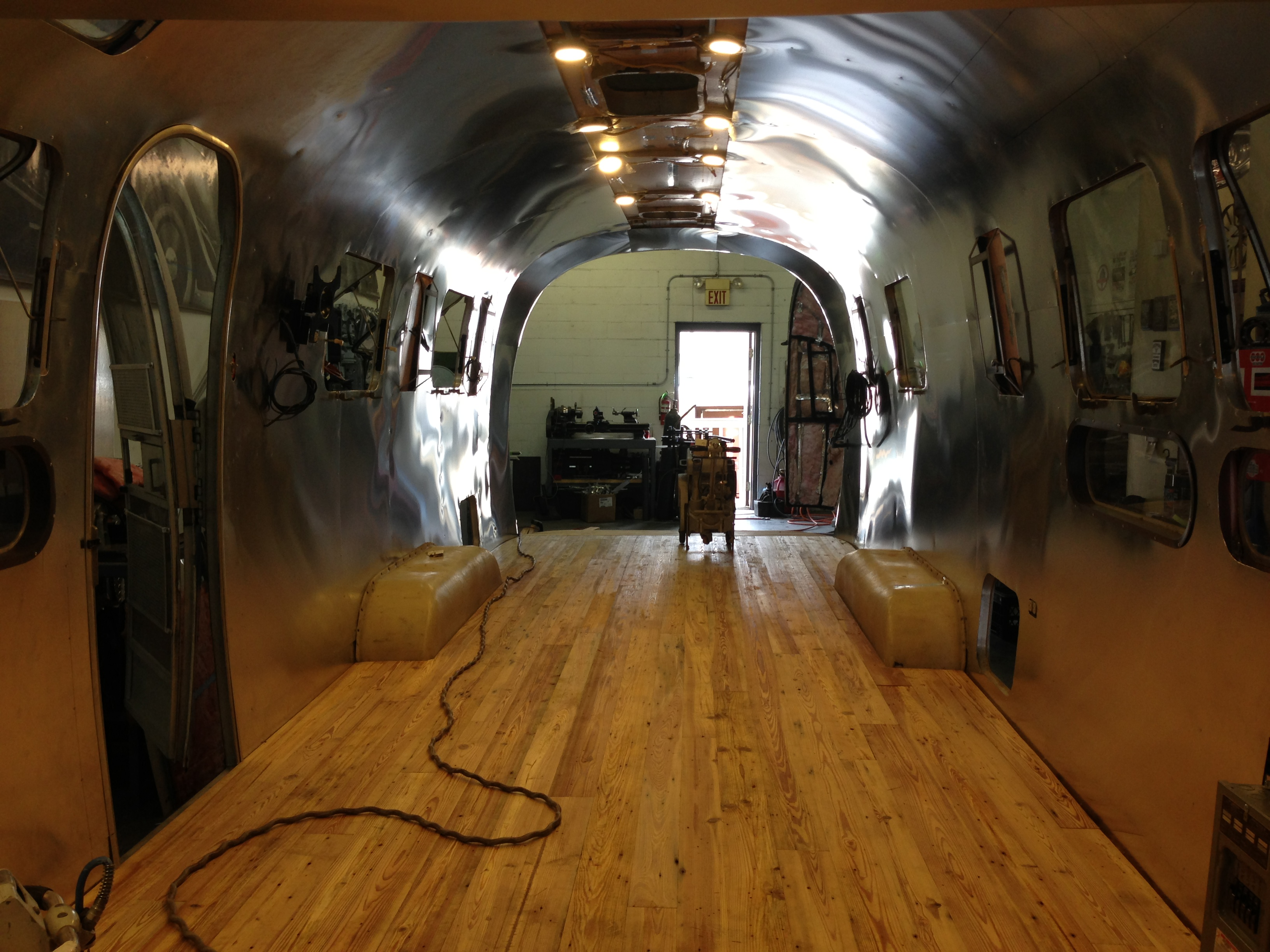 1972 Airstream Camper Car Hauler Conversion Harper